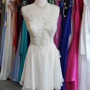 Ivory Lace dress size 12